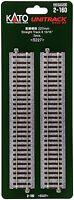 Kato Ho Scale Straight Track 227mm 8 15/16 (2 Pc) 2-160