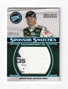 2009-Press-Pass-SELECT-EDITION-SWATCHES-Dale-Earnhardt-Jr-BV-150-07-10-RARE