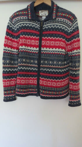 Heirloom M Cardigan multicolore taille la collection de longues manches à wwAqUf0