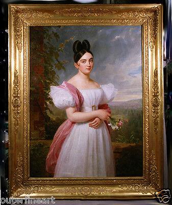 Oil Painting Portrait possible by Austrian Painter Ferdinand G Waldmüller