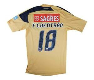 BENFICA 2010-11 Authentic AWAY SHIRT coentrão #18 (OTTIMO) S
