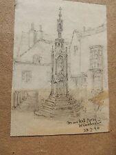 1890  WINCHESTER  Pencil Drawings       BY    W A LLOYD   --