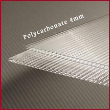 GREENHOUSE COVER 4mm POLYCARBONATE SHEETS 2ft x 4ft -10 Pack