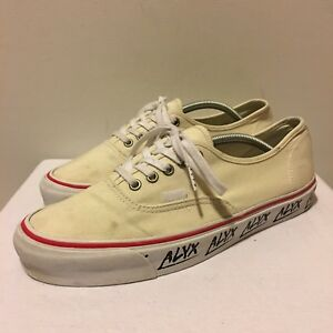 499ddf9a1d48 Image is loading Alyx-Studio-Vans-Vault-OG-Authentic-LX-Cream-