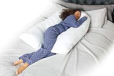9 FT Comfort Cuscino U Supporto Posteriore Corpo Maternità Gravidanza Allattamento Riempimento Extra