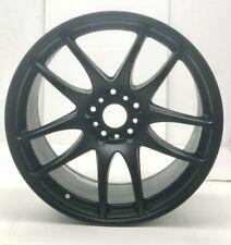 X2 New Work Emotion Cr Kiwami Emt Kwm 18x105 Matte Black Wheel Rims Wr3080a