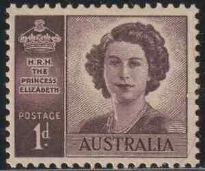 OL35-AUSTRALIA-1947-PRINCESS-ELIZABETH-1d-SET-OF-1V-MNH