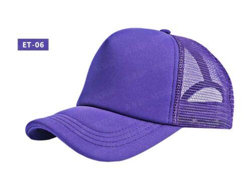 New Unisex Summer Outdoor Adjustable Sport Baseball Mesh Hat Running Visor Cap