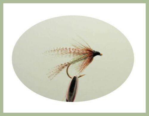 Dabbler flies Fishing Flies 12 x Wet Dabbler Trout Flies Size 10//12 Loch Flies