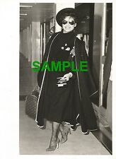 PHOTO BIANCA JAGGER ROLLING STONES MICK JAGGER - BIANCA JAGGER LADY IN BLACK 78
