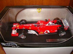 Ferrari F2003ga Marlboro M.schumacher 1 / 18eme Edition Limitée Superbe Rare