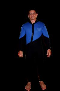 5mm Farmer John 2  Piece Wetsuit - gold Mining - Cold Water Suit - Large - 4050  honest service