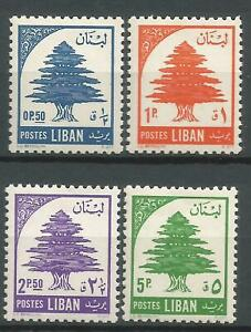 LIBAN-YT-n-118-a-121-Neufs-MNH-1955