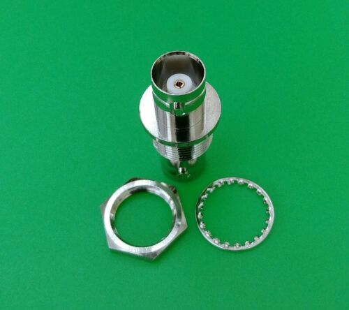 BNC Chassis Mount Double Female Adapter Connector USA Seller x1