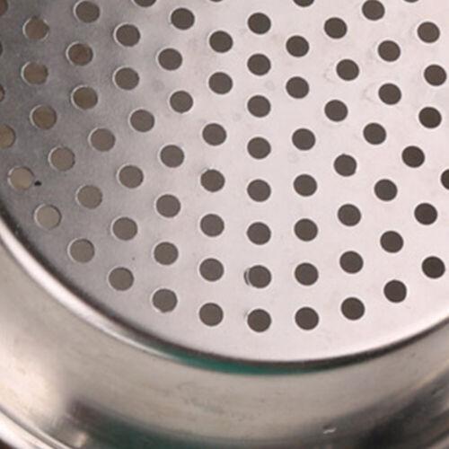 Abflusssieb Universal f/ür Badewanne Fangehong 10 STK Sp/üle Sieb Abfluss K/üchen Waschbecken Sieb Dusche Abfluss Sp/üle Filter Edelstahl Haarsieb Au/ßendurchmesser 7,5 cm