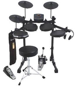 D-TRONIC-Q2-Electronic-Digital-Drum-Kit-with-DTRONIC-Drumkit-Stool-amp-Drum-Sticks