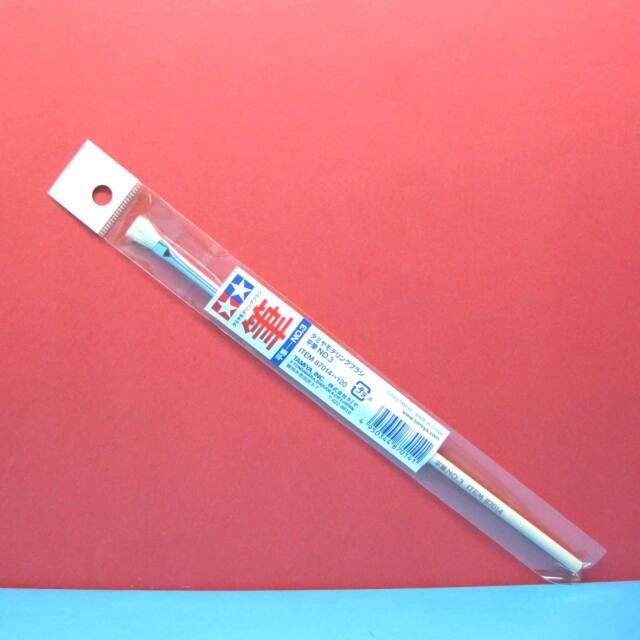 Tamiya #87014 Flat Brush No.3