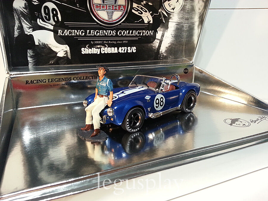 Slot Scalextric MRRC MC-0001 Shelby Cobra 427 S C Racing Legends Collection