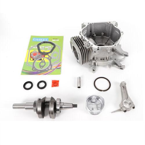 Engine Block Rebuild Fits Honda GX390//340 Connecting Rod Piston Gear Crankshaft