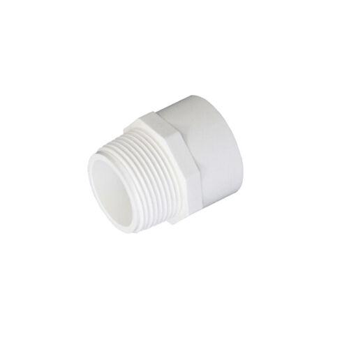 Weiß Ø 50 mm PVC Klebefitting Verschraubung Klebemuffe Fittings Winkel Kugelhahn
