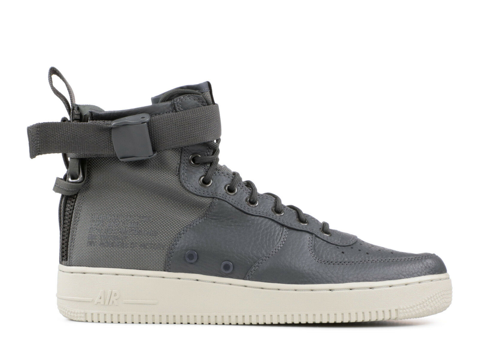 Air Nike Men's Force 004 917753 Premium Trainers Grey 8 Size