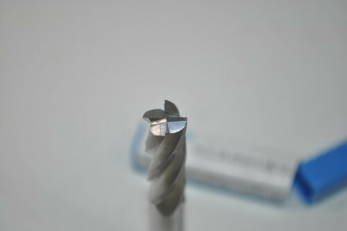 "SGS Carbide End Mill SER 1L w//Flat Q 4 Flute 3//8/"" Dia//Shk 1/"" LOC"