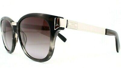 NEW DSquared2 DQ0131-01P Black Silver Square Gradient Grey Lens Sunglasses DD 52