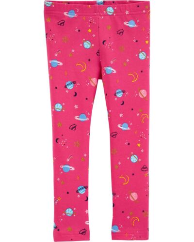 NWT Carter/'s Pink Space Leggings Girls 2T,3T,4T,5T,14