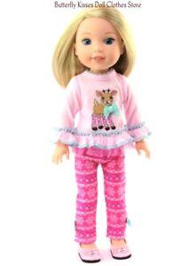 Pink Leggings Set for American Girl Dolls