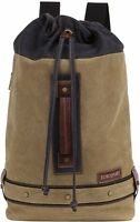 Eurosport Duffel Backpack Canvas Bag B713 Rucksack Travel Sport Camping School