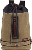 Eurosport Duffel Backpack Canvas Bag B713 Rucksack Travel Sport Camping School