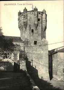 Salamanca-Spanien-Espana-AK-1910-Torre-del-Clavero-Burg-Turm-Tower-ungelaufen