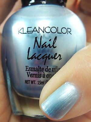 1PC Kleancolor Nail Polish #11 Blue Pearl Nail Polish - Beautiful ...
