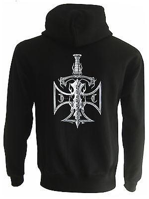 Choppers Sword Custom Rocker Kapuzenjacke Sweater Zipper Pullover