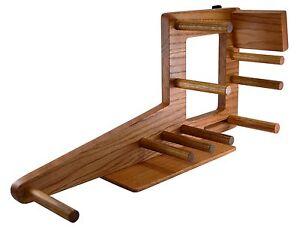 """Inkle Loom 20"""" Tablet Weaving Card Weaving Loom Handcrafted Of Red Oak"""