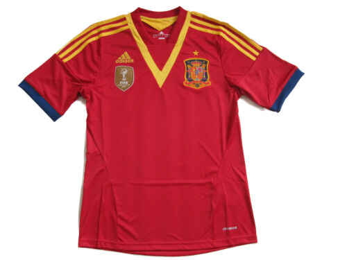Spain Adidas Home Jersey RFEF Shirt Size S M L XL 2XL EM X53272 NEW