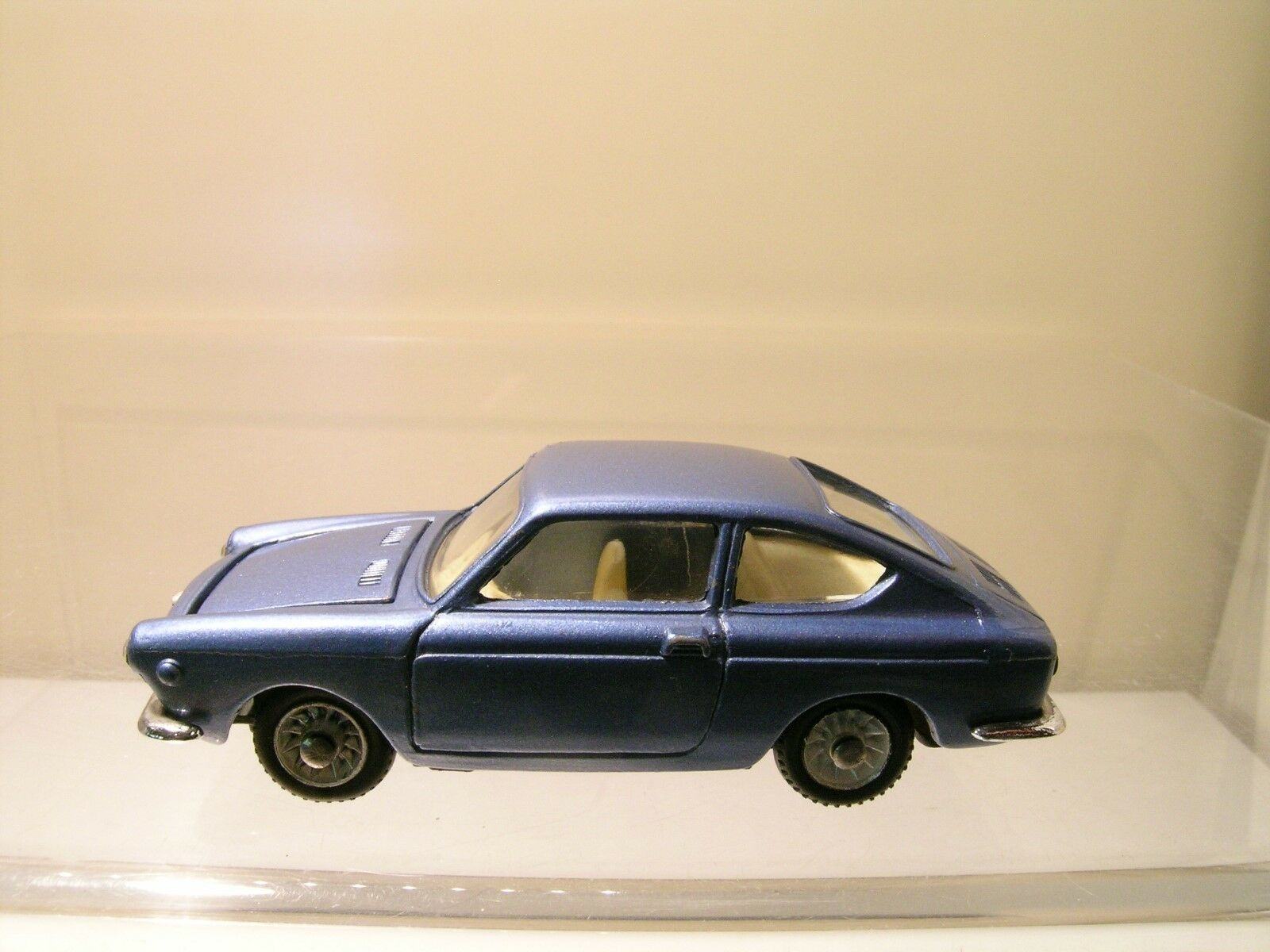 MERCURY ITALY No.44 No.44 No.44 FIAT 850 COUPE METALLIC blueE NEAR-MINT SCALE 1 43 de9e15