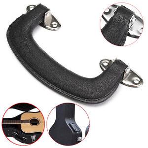 152mm black plastic carrying handle grip for guitar case suitcase box luggage ebay. Black Bedroom Furniture Sets. Home Design Ideas