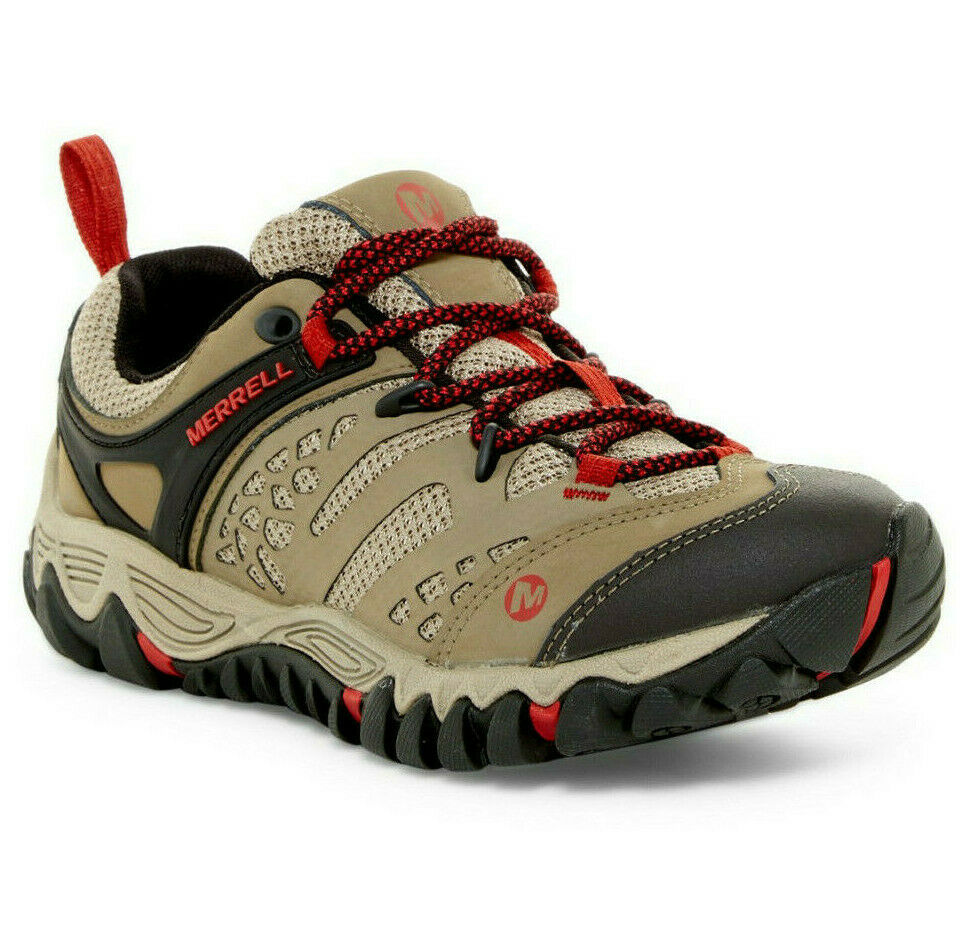 Merrell scarpe donna All Out Blaze Vent Marronee Hiking scarpe NEW
