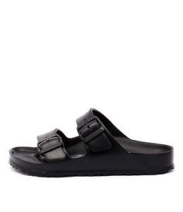 New-Birkenstock-Arizona-Black-Eva-Black-Womens-Shoes-Casual-Sandals-Sandals-Flat