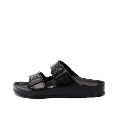 New Birkenstock Arizona Black Eva Black Womens Shoes Casual Sandals Sandals Flat
