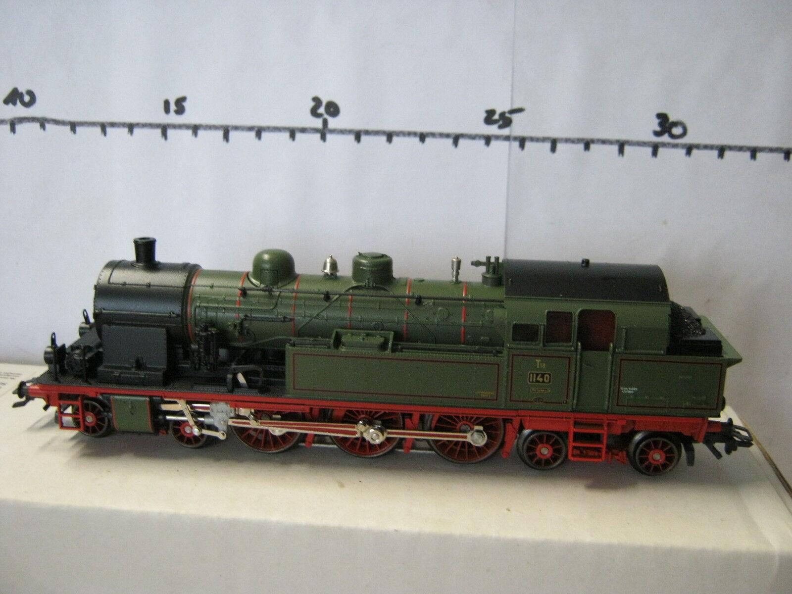 Digital   HO 33071 locomotiva a vapore t18 BR 1140 Wurtenberg  rg/ro/79-85s2/4  VP