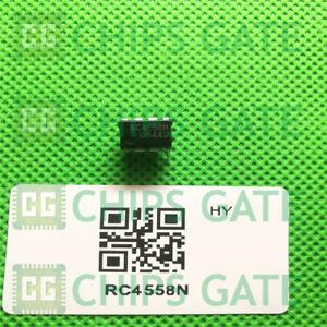 5PCS-RC4558N-Encapsulation-DIP-8-DUAL-GENERAL-PURPOSE-OPERATIONAL-AMPLIFIERS
