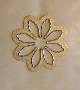 Sizzix Die Cutter FLOWER PETAL FLOWERS Thinlits fits Big Shot Cuttlebug