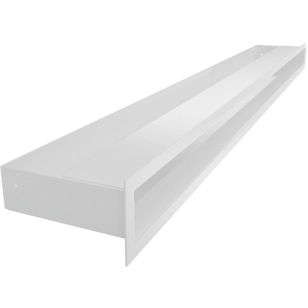 Luftleisten Weiß Luft-Schlitz mit Hinterblende Kaminofen Heiz Kamineinsatz 6x100     | Authentische Garantie  | Nicht so teuer  | Am wirtschaftlichsten