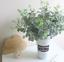 1pc Artificial Fake Leaf Eucalyptus Green Plant Silk Flowers Nordic Home Decor