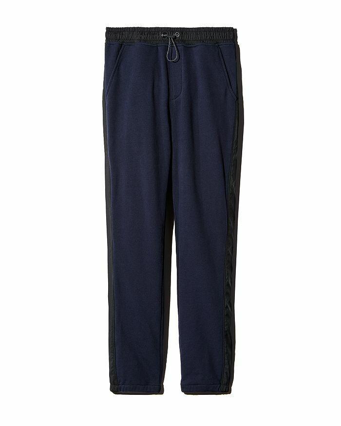 ATM Anthony Thomas Melillo Men's French Terry Sweatpants Midnight/Black-Small