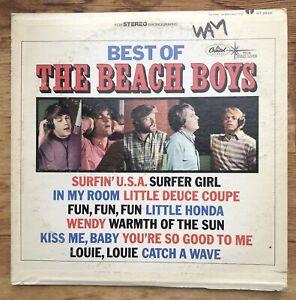 BEST OF THE BEACH BOYS VINYL LP CAPITOL RECORDS DT-2545