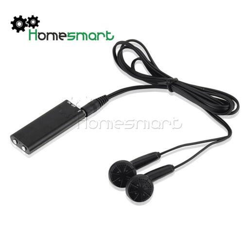 Mini 150Hr USB 8GB Digital Hidden Voice Recorder Dictaphone MP3 Player AHS