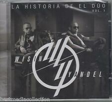 Wisin & Yandel CD NEW La Historia De El Duo Vol 1 ALBUM Nuevo SEALED